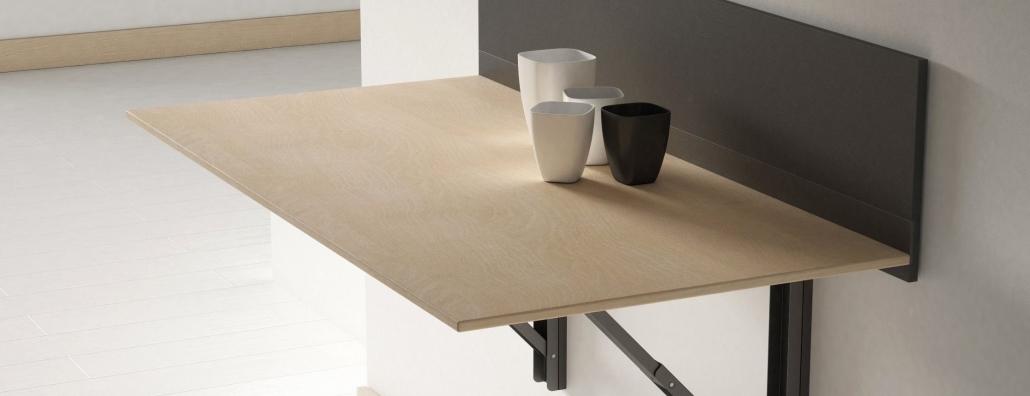 Tavolo A Muro Pieghevole.Come Costruire Un Tavolo Pieghevole A Muro